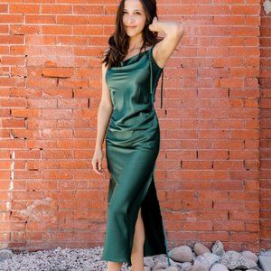 Emerald Green Bridesmaid/Occasion Dress